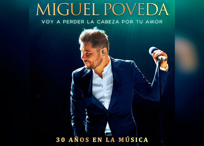 Miguel Poveda presenta su nuevo single Voy a perder la cabeza por tu amor
