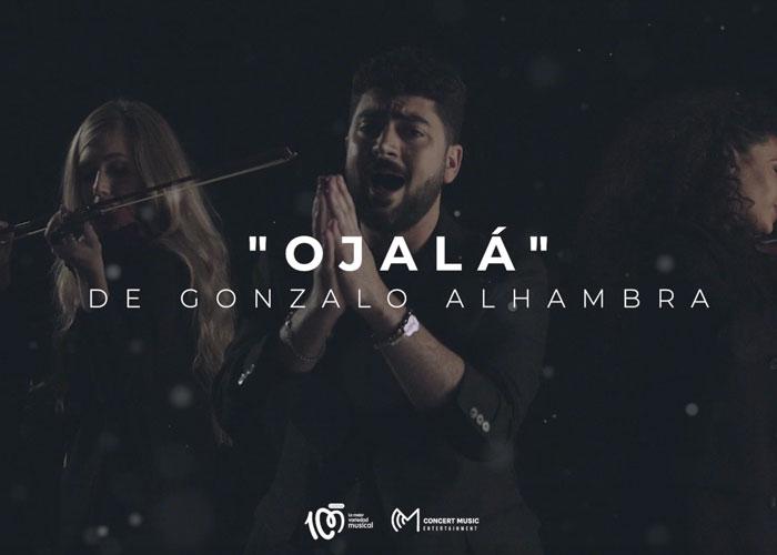 Cadena 100 estrena en exclusiva Ojalá, el nuevo single de Gonzalo Alhambra